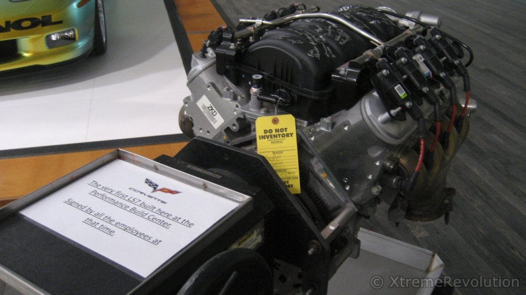 First engine built at the GM Performance Build Center