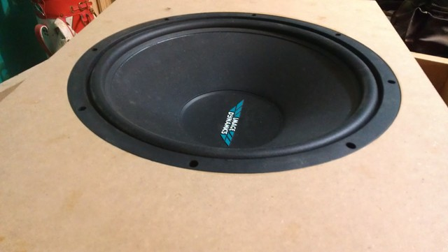 Flush mount subwoofer box