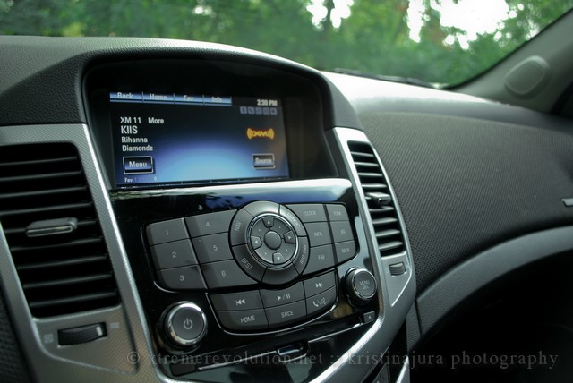 Chevy Cruze LTZ Interior Navigation