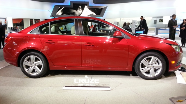 2014 Chevrolet Cruze Diesel Side
